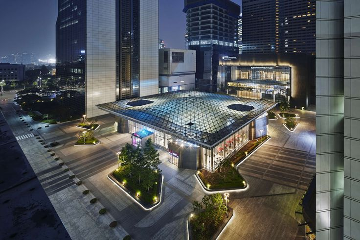 'COEX is an 85,000 square-meter subterranean retail complex located in the Gangnam district of Seoul, South Korea. It occupies the subterranean level of a su...