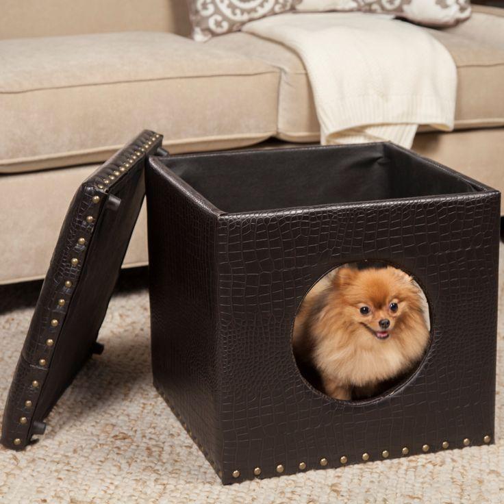 HomePop Pet Bed Ottoman