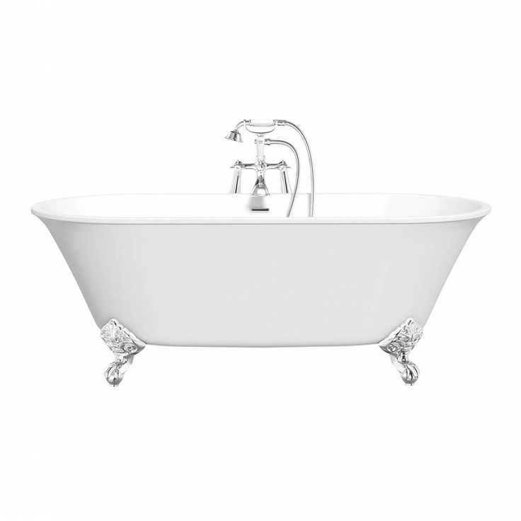 The Camberley Roll Top Bath is the ultimate in classic style, perfect as the centrepiece of a traditional bathroom. The rounded shape and angled sides create a classic profile and with a choice of either dragon claw or ball feet, it'll give your bathroom a truly luxurious look. Finish with a traditional style mixer tap and detachable shower head for a beautifully classic style interior.
