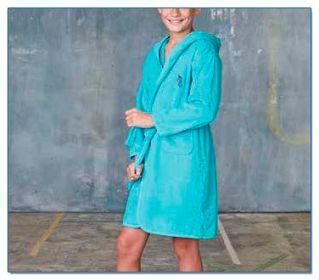 SeaHorse-Collection, kids' towelling bathrobe, 59,99€