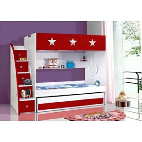 Blue Bunks King Single And Trundle