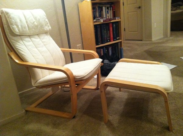 Ikea poang chair and footstool living room ideas pinterest chairs we and ikea - Bentwood chairs ikea ...