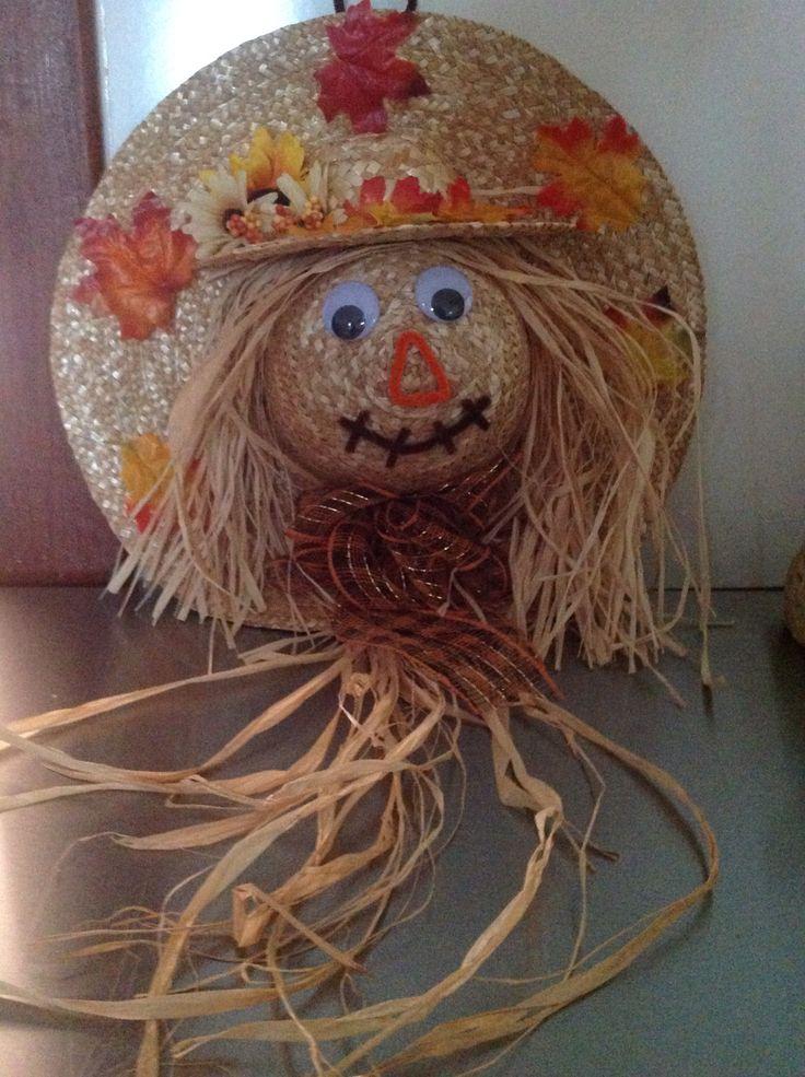 61 best Straw Hat Crafts images on Pinterest | Hat crafts ...