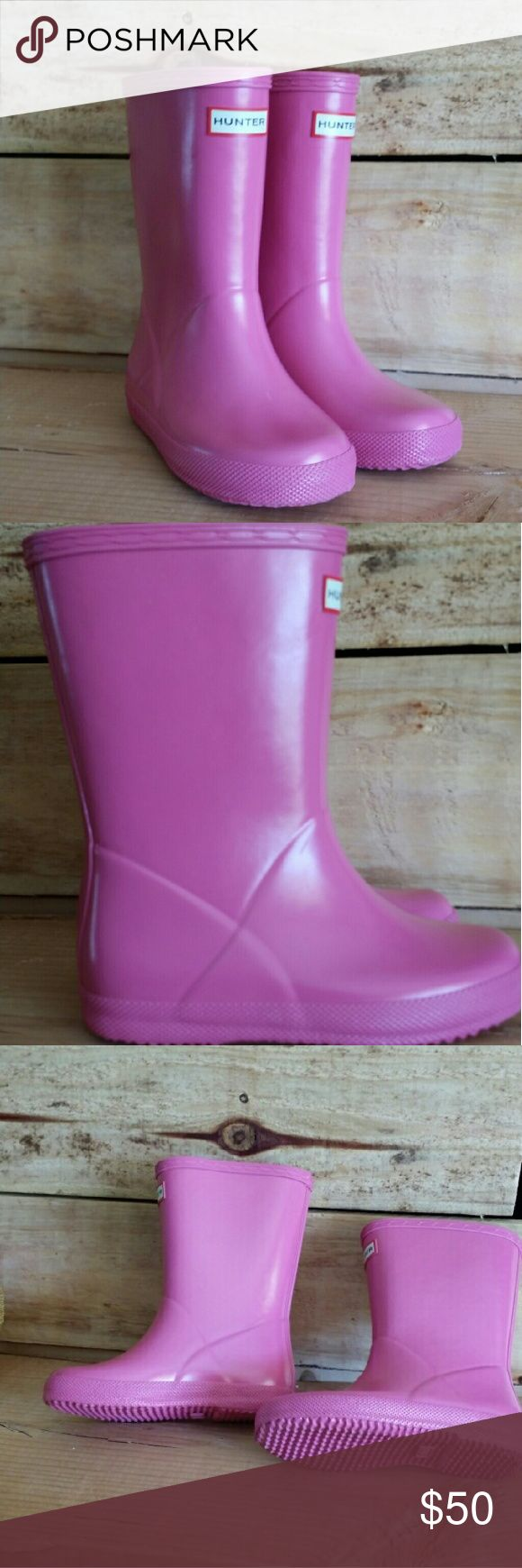 Hunter boots kids Pink Hunter Boots for girls Hunter Boots Shoes Rain & Snow Boots