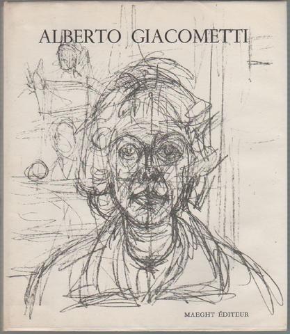 Dupin Jacques, Alberto Giacometti. Paris, Maeght, 1962. Con 2 litografie originali in copertina e frontespizio. Prima edizione (First edition)