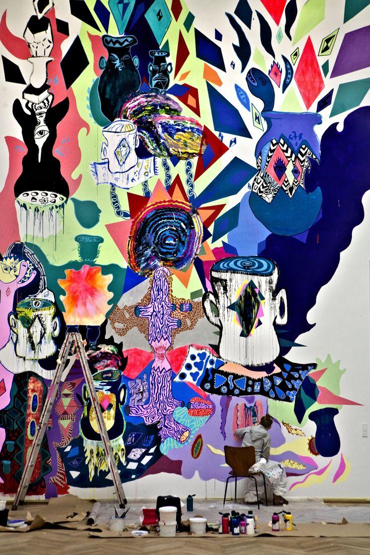 Atelier. Ida Kvetny er en af de kunstnere, der er rykket ind på den gamle Carlsberggrund. Hun er blandt andet uddannet fra Saint Martins College og Art and Design i London (arkiv). - Foto: TOBIAS SELNÆS MARKUSSEN