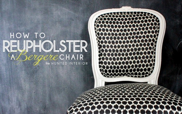How to reupholster a chair like a pro  #reupholster #chair #bergere: Berger Chairs, Tutorials, Desks Chairs, Front Rooms, Dining Chairs, Hunt'S Interiors, Accent Chairs, Reupholst Chairs, Diy Projects