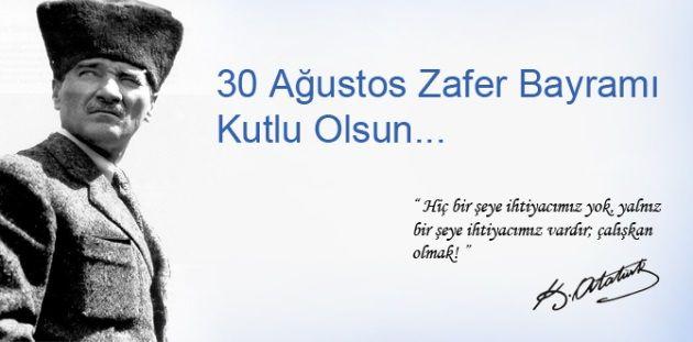 30 Ağustos Zafer Bayramı sözleri ve mesajları Sözcü Gazetesi - Sayfa 8 - Sayfa - 8 - Sözcü Gazetesi