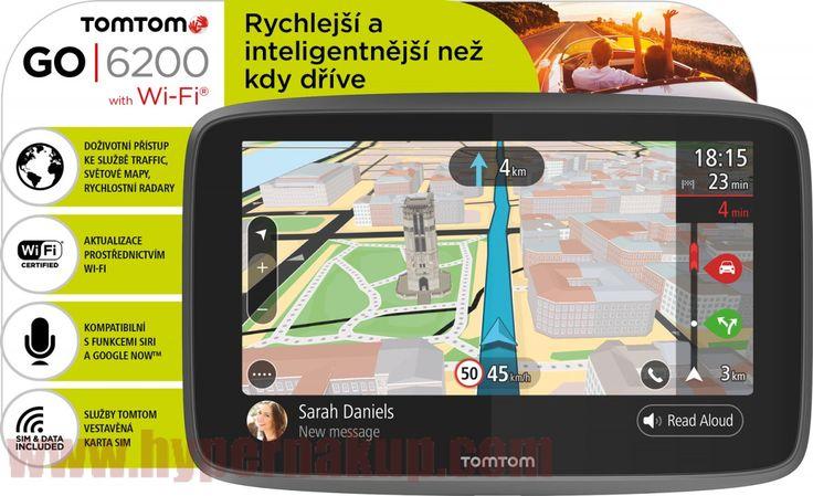 Navigácia TomTom GO6200 WiFi