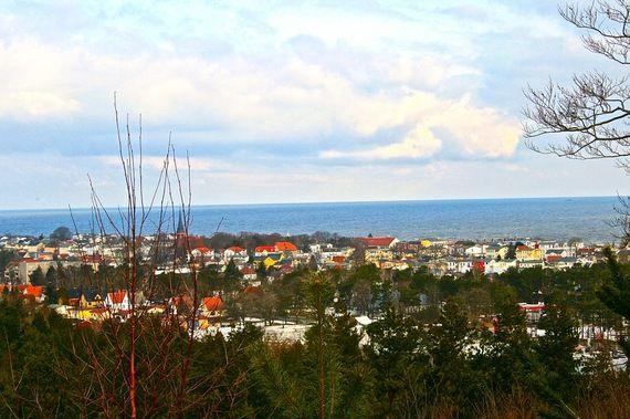 Blick auf #Ahlbeck auf der #Ostseeinsel #Usedom. Auf #Usedom und besonders in #Ahlbeck gibt es viele schöne #Wellnesshotels.