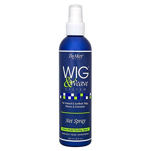 Demert Wig and Weave Wig Net Spray Pump 8 Ounce  This Spray is professionally formulated to hold any style firmly, yet gently. It is a crystal clear, quick dry formula that will not build up and protects color.         Demert Wig and Weave Wig Net Spray Pump 8 Ounce Features     Can be used on Natural and Synthetic hair   Quick dry formula dries clear   Protects color from fading with sun screen     The post  Demert Wig and Weave Wig Net Spray Pump 8 Ounce  appeared first on  BestBuy..