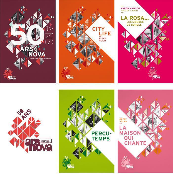 Atelier beau-voir / ars nova 2012-2013 posters