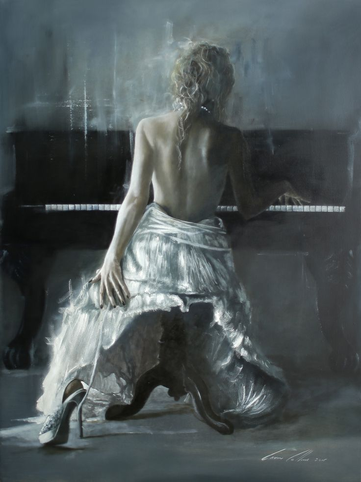 """Figurative Oils on canvas  """"A Lifetime of memories"""" By GAVIN COLLINS"""