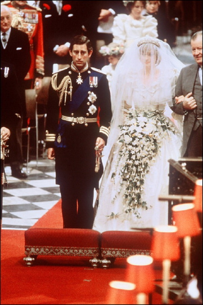 July 29 1981 Prince Charles Marries Lady Diana Spencer In Saint Paul S Cathedral