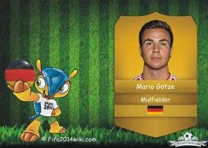 Mario Gotze - Germany Player - FIFA 2014
