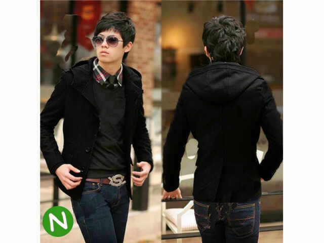 ROMEO jackets hodie @70(semi kulit combi wadges) fit to L besar,(pj65cm,LD110cm),,hitam,(kancing hidup)