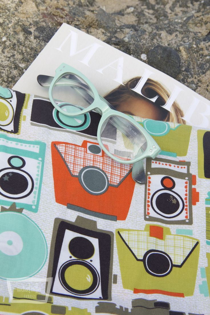 Mod Guy and Mod Girl fabrics by Michael Miller Fabrics. Photography by Trenna Travis Design Studio