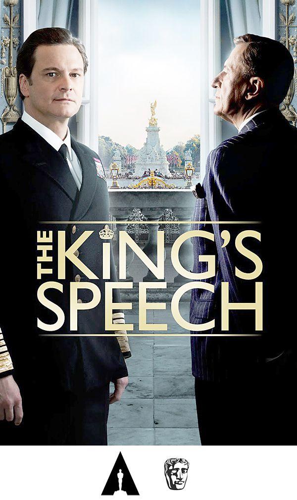 El Discurso Del Rey The King S Speech 2010 Reino Unido Estados Unidos Australia Direccion Tom Hoope Oscar Mejor Pelicula Peliculas El Discurso Del Rey