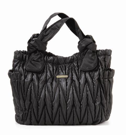 The Marie Antoinette II Tote Diaper Bag by Timi & Leslie - Black Zoom Price: $169.99