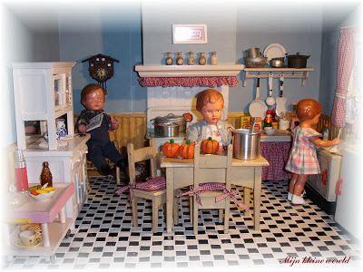 Mijn kleine wereld - Vernieuwd keukentje.
