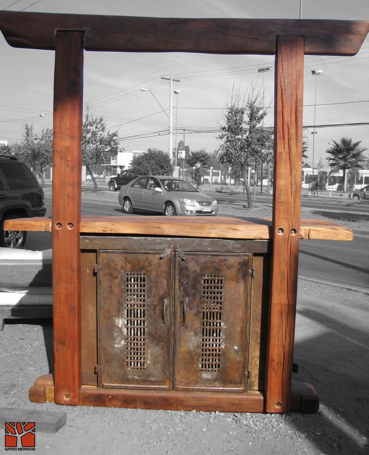1000 images about bar steelwood medieval on pinterest for Bar de madera y fierro