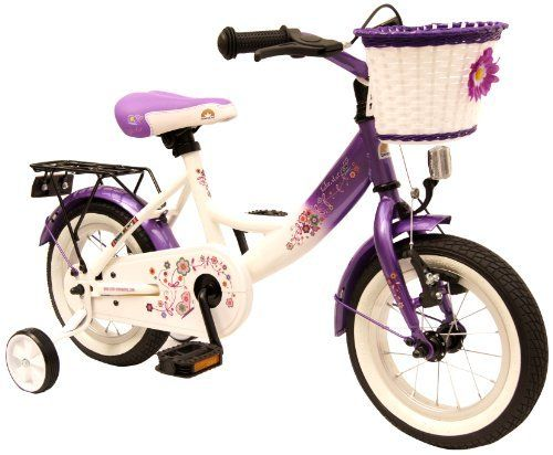 bike*star 30.5cm (12 Inch) Kids Children Girls Bike Bicycle Classic - Colour Lilac & White by Bikestar. $119.99. Ergonomically correct premium bike saddle that is adjustable to rider height as well as the proper angle to maximize comfort, stability and safety.. Modern and stable steel tube framework with a low crossbar that is safer for smaller riders. Impact resistant glitter metallic paint finish.. German design, new for 2012/13!. Equipped with ball bearing steering th...
