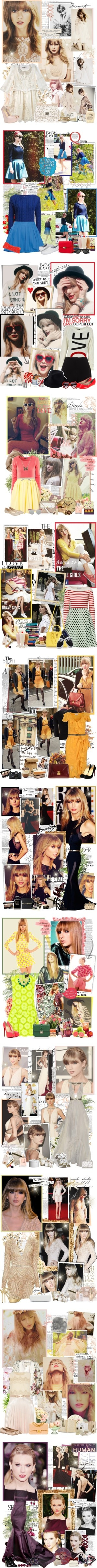 """Taylor Swift style"" by mery90 ❤ liked on Polyvore"