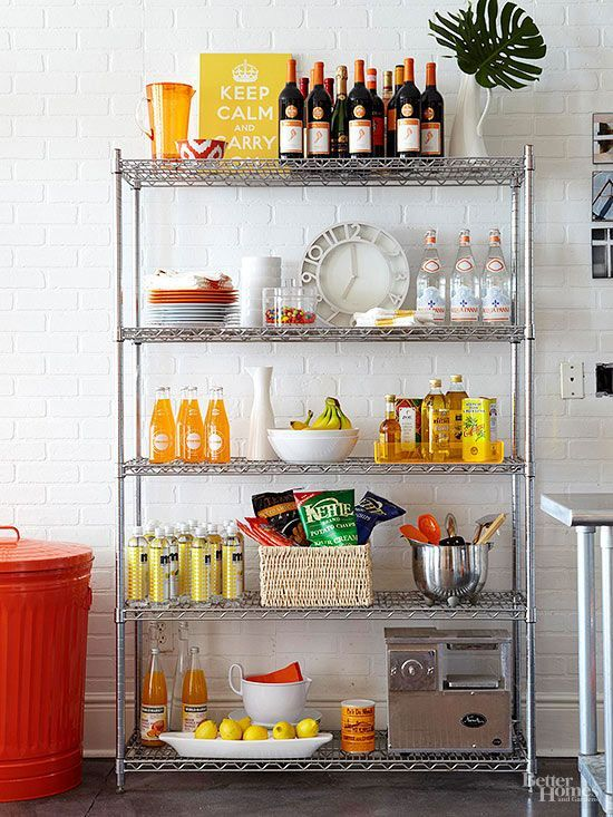 Restaurant Kitchen Metal Shelves 473 best pantries / shelves / drawers images on pinterest