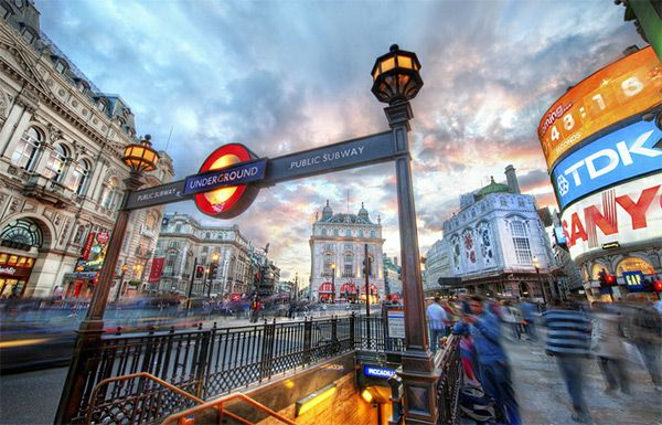 The London Underground - Piccadilly in World Tour: London Photography
