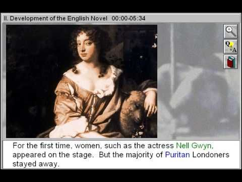 Development of the English Novel (17th and 18th Centuries & Development of the English Novel Part 2) - YouTube