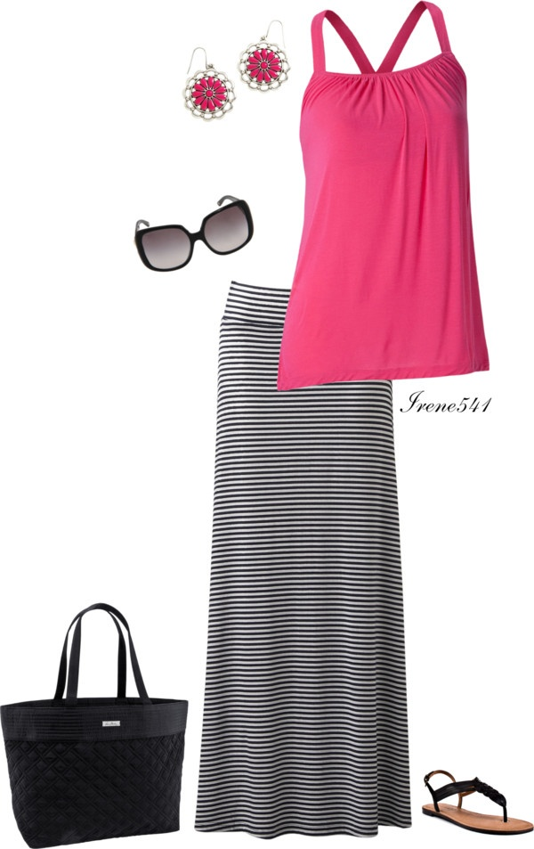 """""""Pretty in pink"""" by irene541 ❤ liked on Polyvore"""