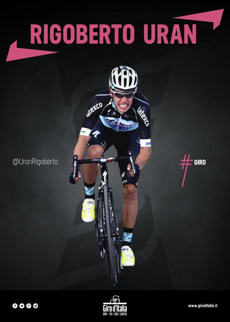 Giro d'Italia @giroditalia Vamos Rigoberto Urán, vamos Colombia! #giro pic.twitter.com/GqdjKwraBs
