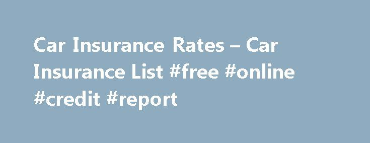 Compare used car insurance rates online free 18