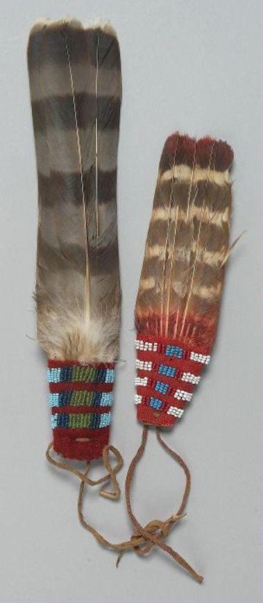fan ornaments, Crow.  BBHC