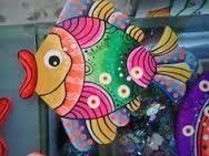 Resultado de imagen de pintura de peces moderna
