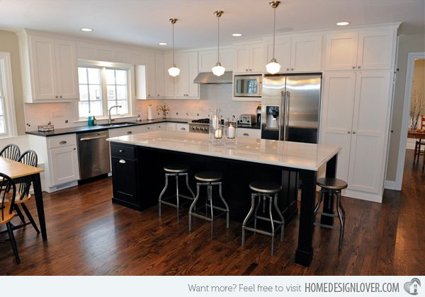 15 Astonishing Contemporary L-Shaped Kitchen Layouts | Home Design Lover