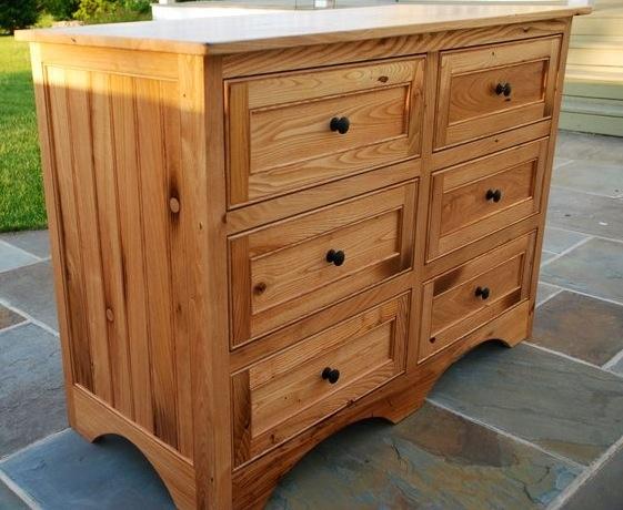 Chestnut dresser for my grand daughter · Barn WoodWood Furniture DressersDaughters
