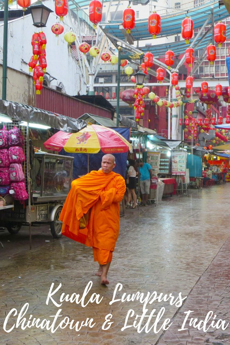 Kuala Lumpurs Chinatown und Little India - Der Trubel Hong Kongs und der Duft Bombays, Kuala Lumpur, Malaysia