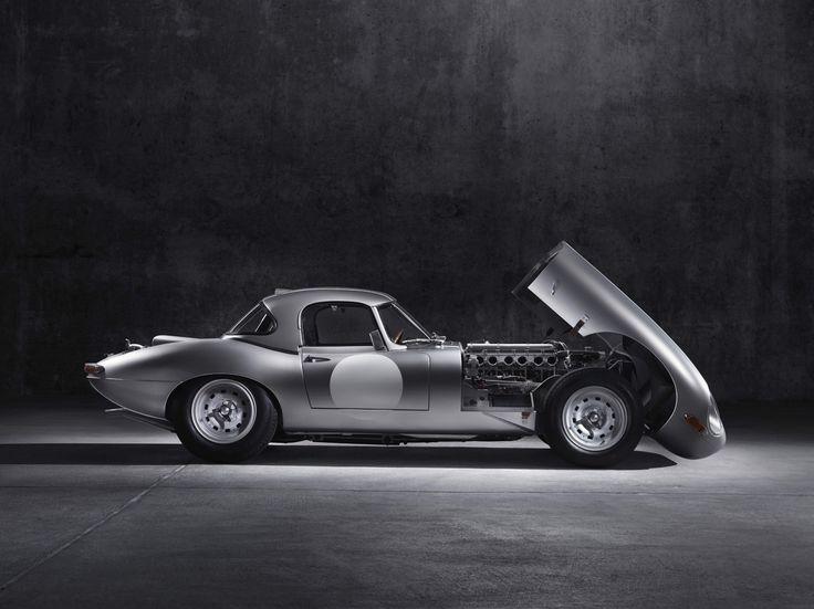 Jaguar Lightweight E-Type - Car Zero prototype