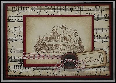 #christmas lodge #that's the ticket #stampin up