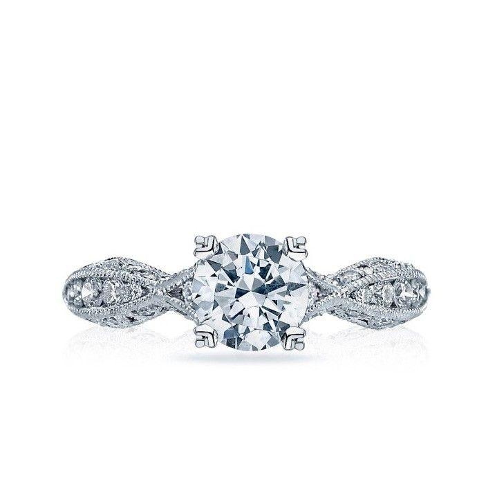 Tacori - Classic Crescent Engagement Ring. $4,268.