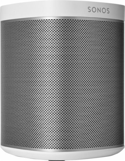 SONOS - PLAY:1 Wireless Speaker for Streaming Music - White - Angle Zoom