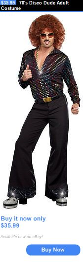 Men Costumes: 70S Disco Dude Adult Costume BUY IT NOW ONLY: $35.99