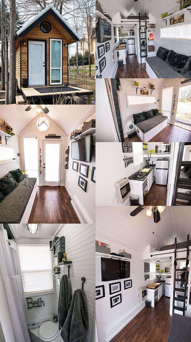 No idea who designed this tiny house but they must live in my head :) Tiny House Swoon - The Shoebox