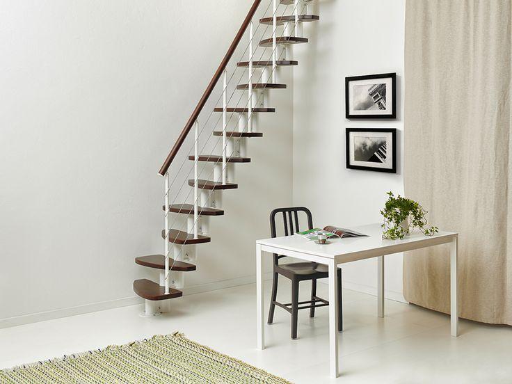 M s de 25 ideas incre bles sobre escaleras para casas - Escaleras para espacios pequenos ...