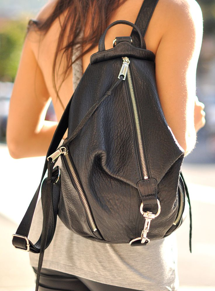 Rebecca Minkoff Julian Backpack. Got it for Christmas. It's awesome.