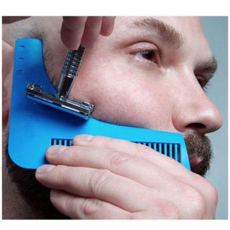 Beard Bro Beard Shaping Tool Sex Man Gentleman Trim Template hair cut molding trim template beard modelling tools