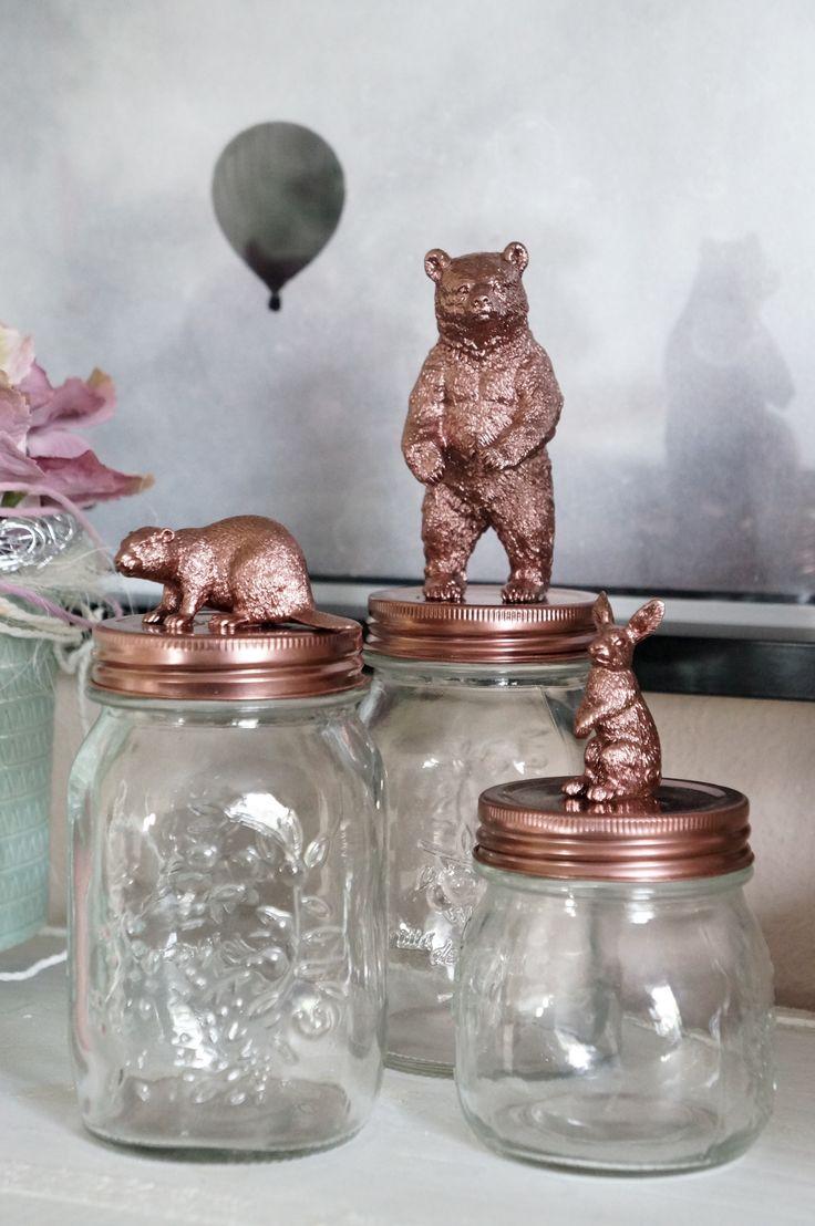 DIY Figuren Gläser - today is