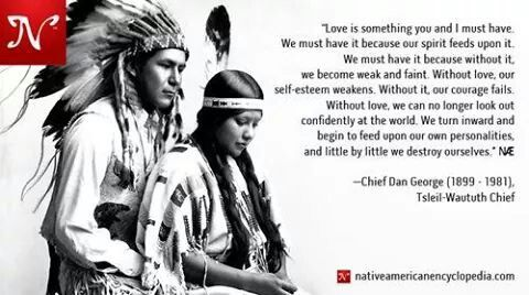 Our spirit feeds on love...