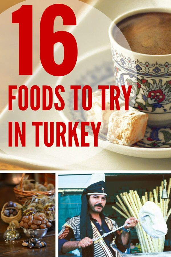 Turkey is not only filled with wonders and amazing UNESCO heritage sites, it's a place to feast on some amazing food. Discover 16 foods that you need to try in Turkey including Turkish ice cream, and amazing pide. Discover more @turkeyhome.
